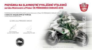 Pozvánka - vyhlášení CAMS 2018