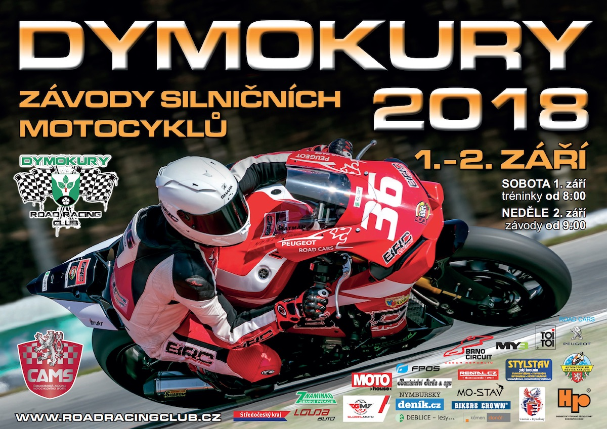 Dymokury 1. - 2. 9. 2018